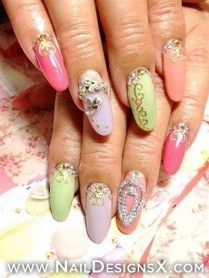 cute 10 nail art