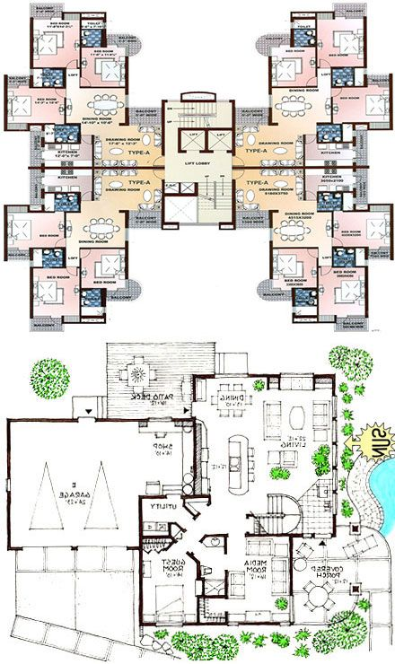 modern house floor plans check out how to build your dream house interior design modern. Black Bedroom Furniture Sets. Home Design Ideas
