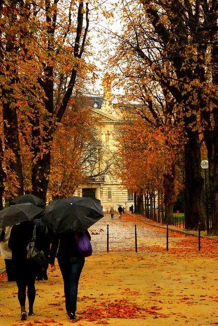 Autumn in Paris by lula