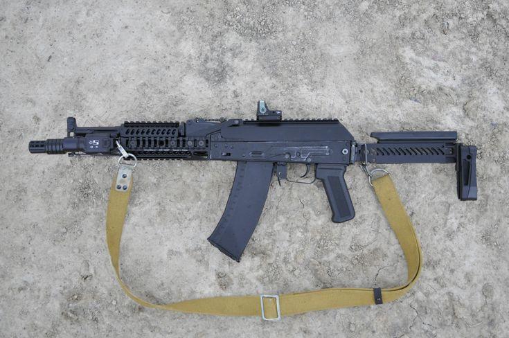 ZenitCo AK Accessories on a purpose built AK47 Optimum home defense set up.