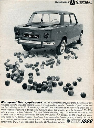 1963 Chrysler Simca 1000 Advertising Car and Driver Magazine May 1963 | Flickr - Photo Sharing!