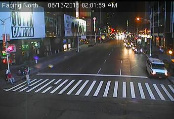 Webcam 750 Seven Avenue - Caméra de circulation montrant la Septième...