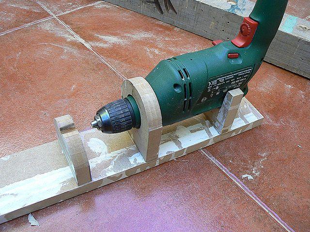 Wood lathings el inicio del proyecto - Mini taladro leroy merlin ...