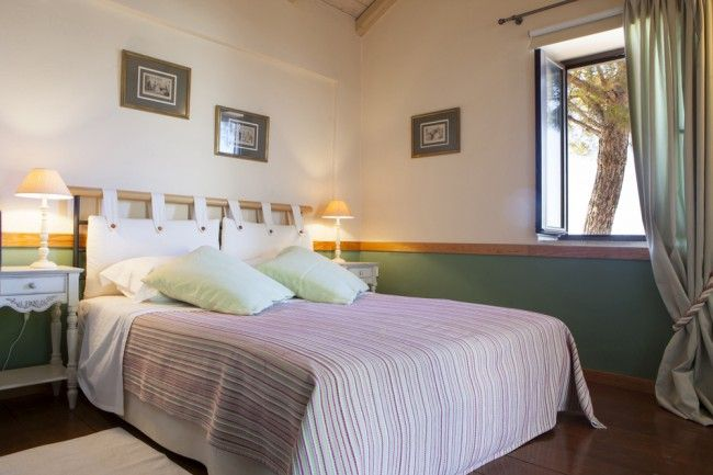 Two attractively appointed bedrooms provide easy access out to the terrace area around the villa