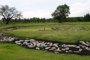 Ōyu Stone Circles in Kazuno-shi Japan