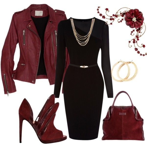 """Sign the contract"" by sassymssharon on Polyvore - minus the shoes"