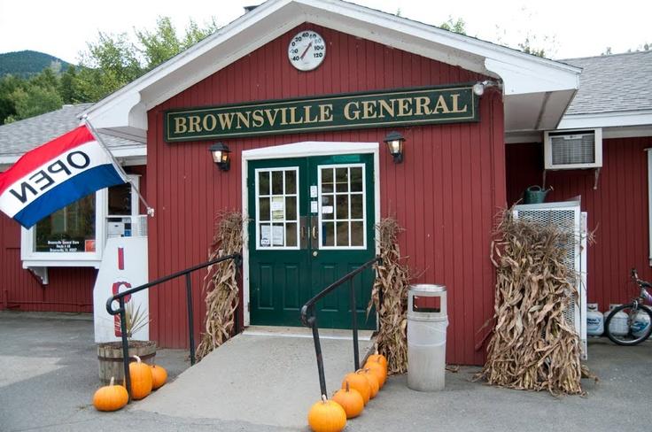 Brownsville, Vermont  Brings back lots of memories!