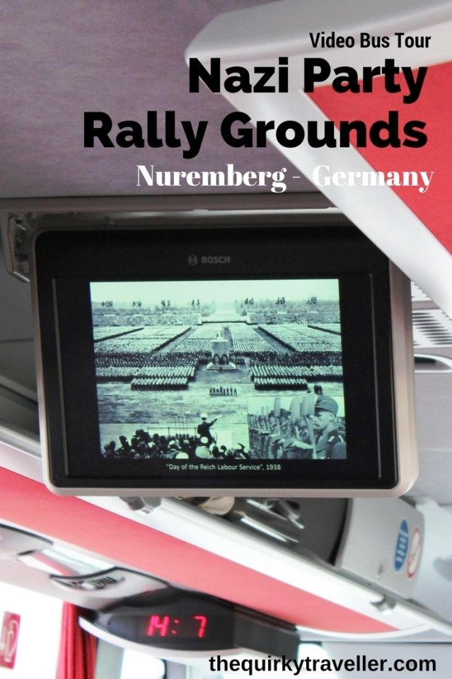 Bus tour of Nazi Party Rally Grounds in Nuremberg, Germany