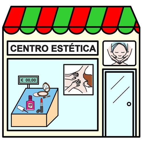 Pictogramas ARASAAC - Centro de estética.