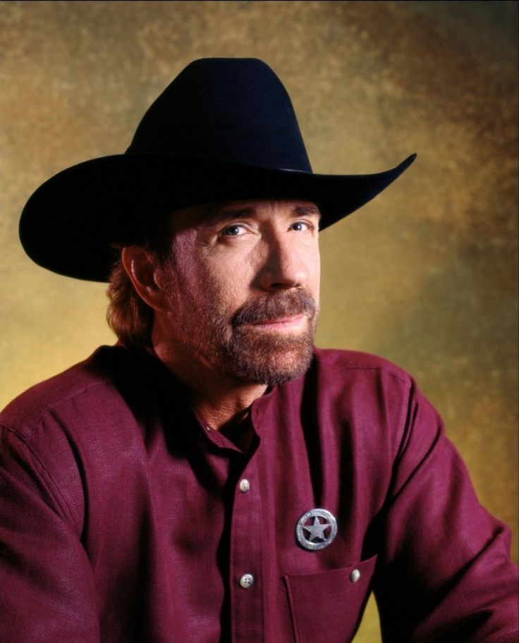 """""""I gave my life to the Lord at 12. I was baptized at 12."""" -- Chuck Norris"""