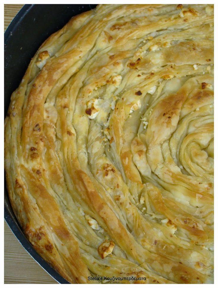 Stella's Κουζινομπερδέματα: Στριφτόπιτα Φλωρινιώτικη-γνωστή και σαν..Βιένο