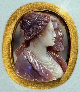 Lucrezia Borgia Cameo