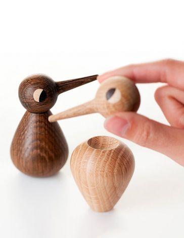Nyhed på je.dk - vi forhandler nu firmagaver fra ArchitectMade. Blandt andet denne gavepakke med 2 stk. Small BIRD.