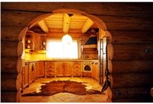 Interiér ze dřeva, Klenovice na Hané