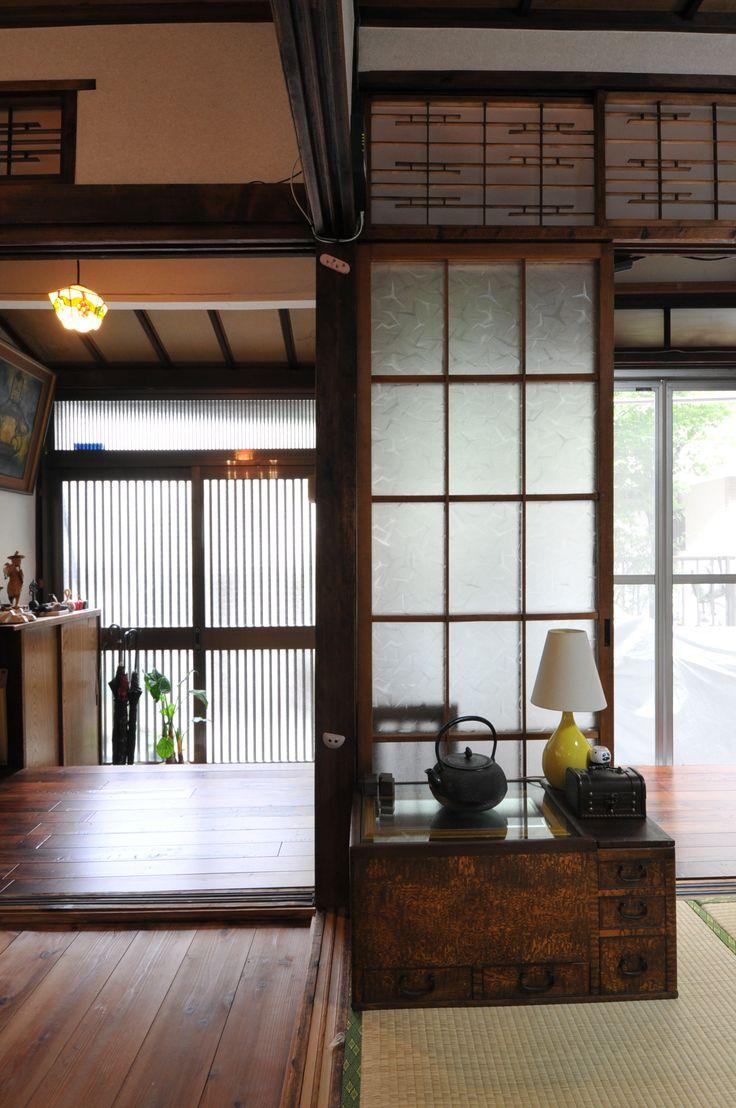 日本家屋、玄関