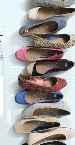 Tom's Ballet Flats for 2012. One for one.