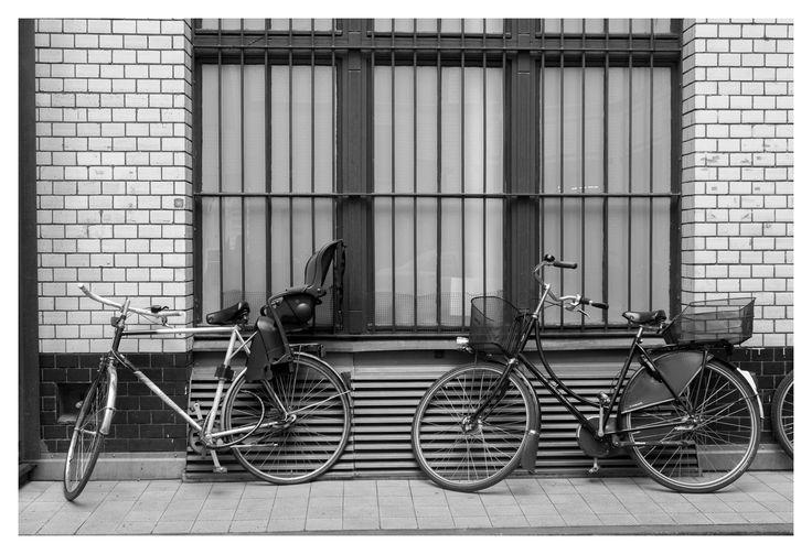Berlin Streets_1 #berlin #germany #deutschland #cycle #street #blackandwhite #monochrome #greyscale