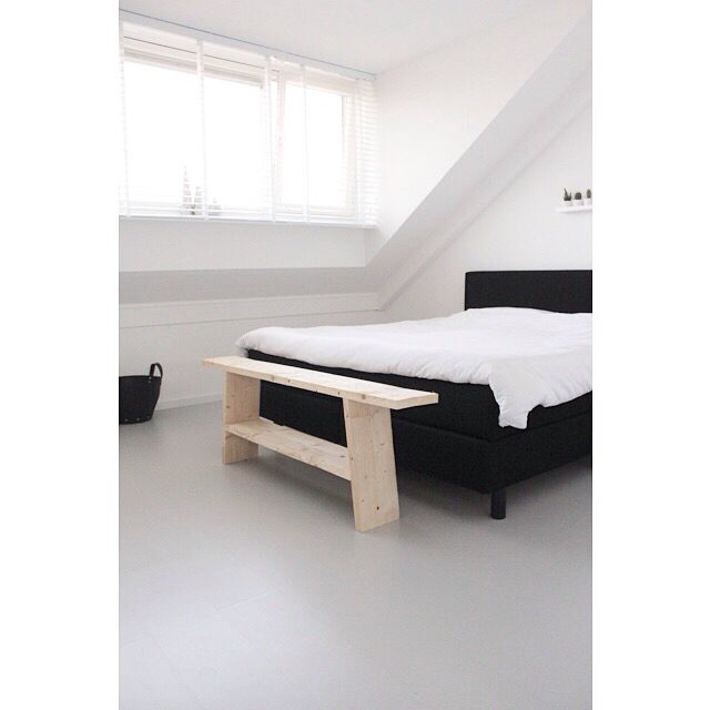 Slaapkamer #bedroom #blackandwhite
