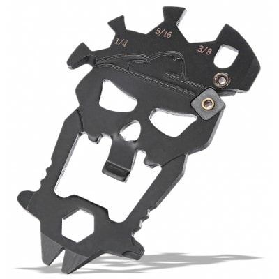 Skull Shape Multifunctional EDC Tool Bottle Opener / Wrench only $2.99 with coupon
