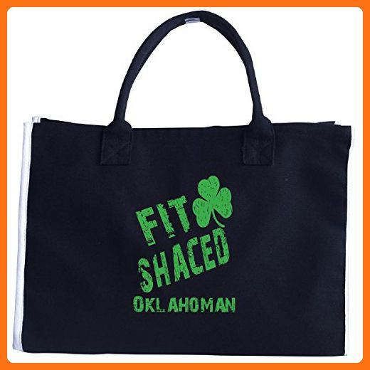 Oklahoman Fit Shaced Drunk St Patricks Day - Tote Bag - Totes (*Amazon Partner-Link)