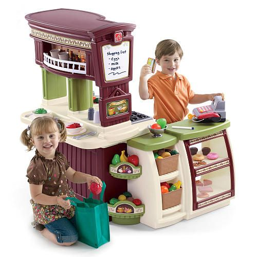 """Step2 Lifestyle Market Place Kitchen - Step2 - Toys """"R"""" Us. Now THIS one is awesome!"""