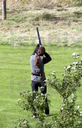 Catherine, Duchess Of Cambridge. Target practice. All women should know how to shoot!