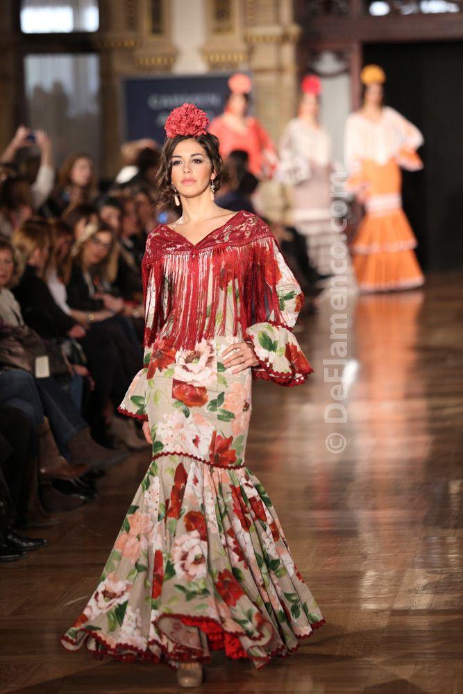 Fotografías Moda Flamenca - We Love Flamenco 2014 - Carmen Acedo - Foto 01