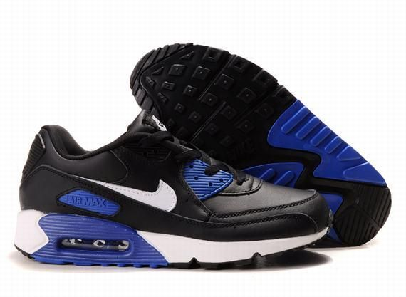 https://www.kengriffeyshoes.com/nike-air-max-90-black-white-blue-p-624.html Only$69.00 #NIKE AIR MAX 90 BLACK WHITE BLUE #Free #Shipping!