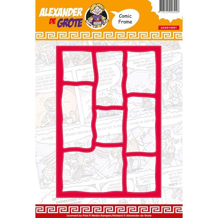 Find It Trading Alexander de Grote Die-Comic Frame