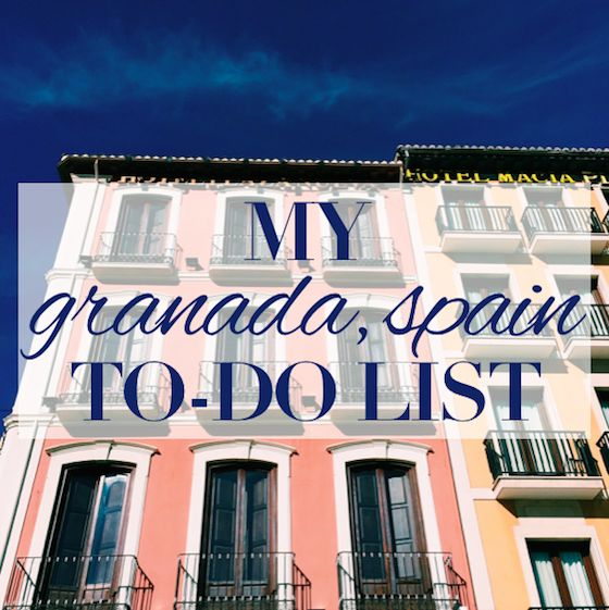 It seems like every day that I'm here in Granada, my list of things I want to check out gets longer. I figured I...