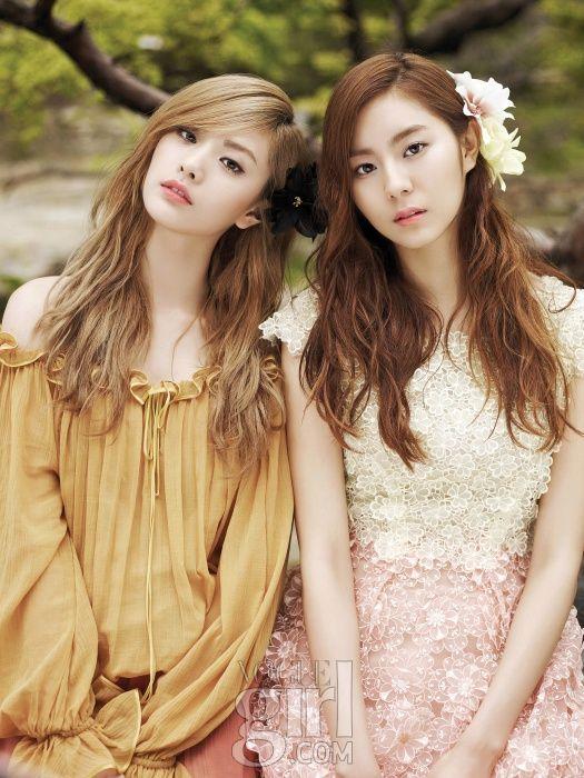 Afterschool's Nana and Uee ( Kim Yu-Jin) ★ #AfterSchool #Kpop #Fashion