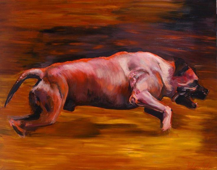 Ольга Тобрелутс. Красная собака