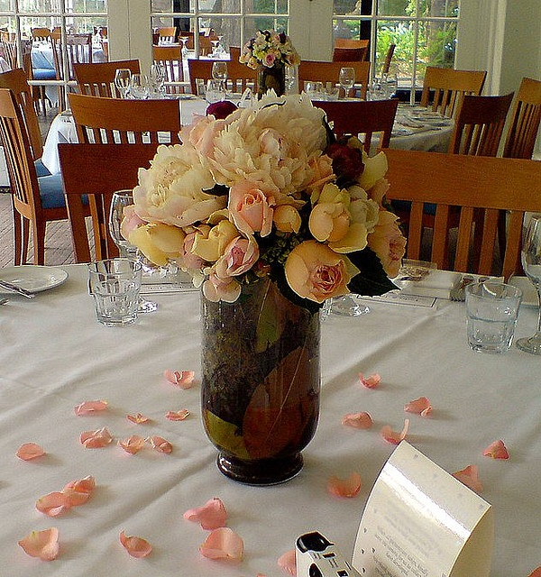 Peonie Vase from Maple Florist