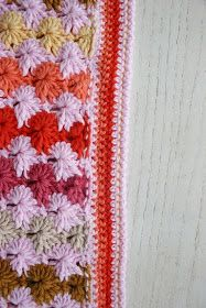 Felted Button - Colorful Crochet Patterns: How To Crochet a Clean Edge Along a Rough Edge