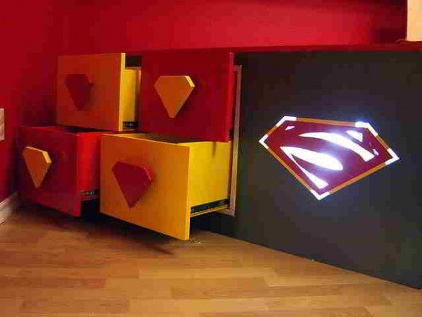 Lovely Superhero Bedroom Ideas
