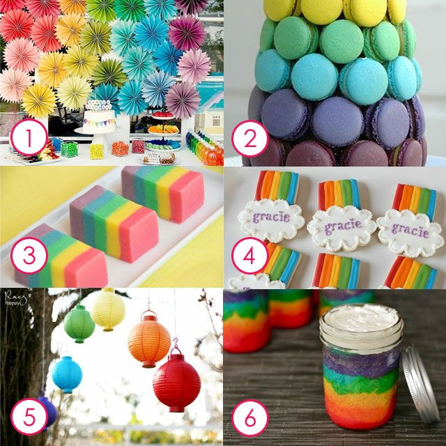 Best 20 Rainbow Party Games Ideas On Pinterest: 44 Best Images About Rainbow Birthday Party Ideas On