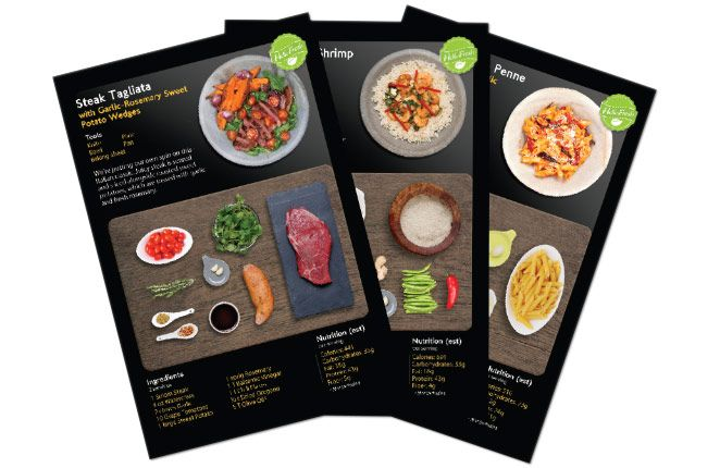 12 best hellofresh food delivery and recipes usa hellofresh weekly delivery of ingred for 3 meals with recipes forumfinder Choice Image