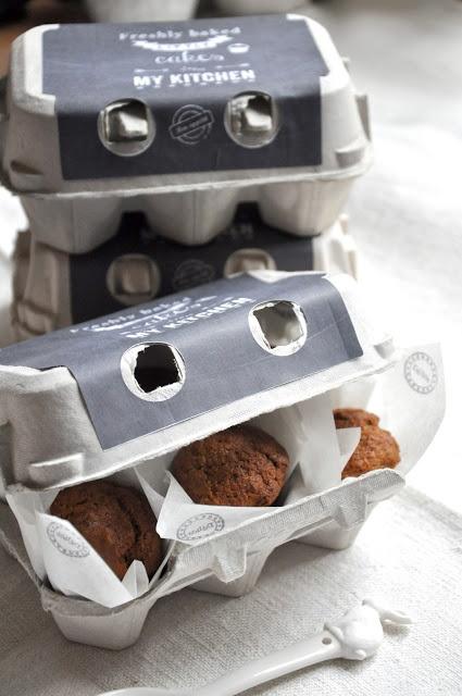 Boite à oeufs pour emballer des gâteaux by L'Art de la Curiosité