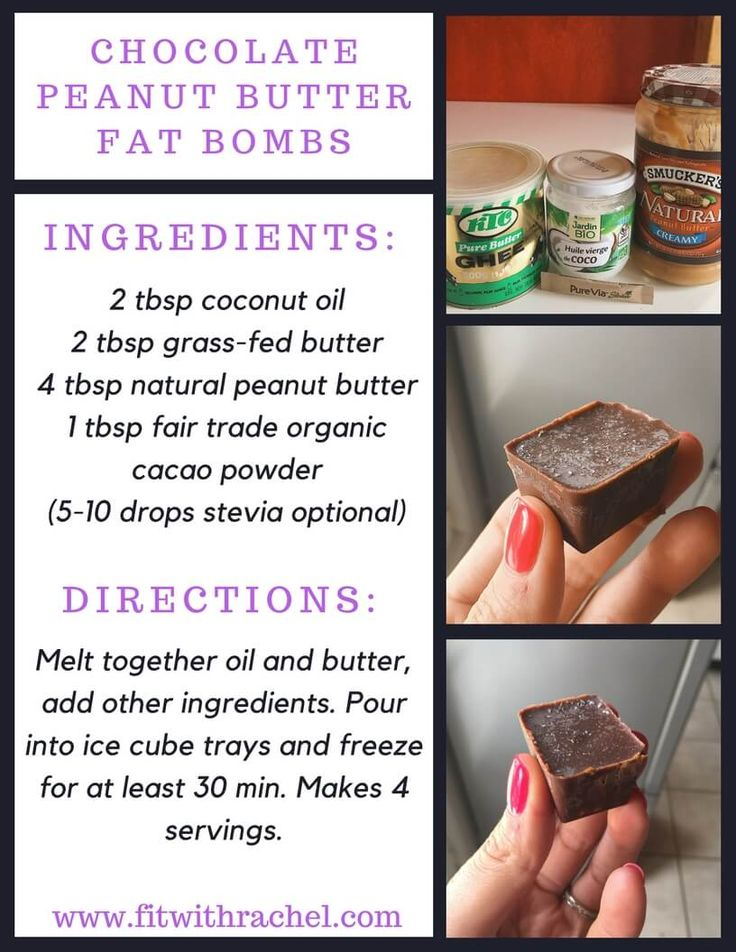 These are KETO Chocolate Peanut Butter Fat Bombs These keto chocolate peanut butter fat bombs were so good!! Have you ever tried fat bombs? I've made peanut butter fat bombs (which are also amazing.) Fat bombs are a super easy way to get your healthy fats in…and they are delicious!! Repin and make these ASAP!
