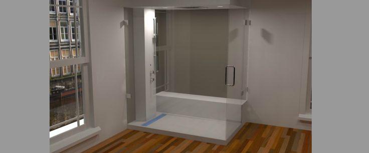 Badwereld is gespecialiseerd in maatwerk stoomcabines. Wij ontwerpen uw stoomcabine, wij maken als stoomdouche cabines sinds 1997. Ook voor alle onderdelen voor het zelf bouwen van stoomdouche cabines