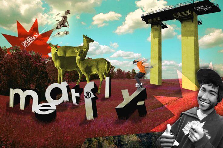 """""""Meatfly skaters Promo: Daniil"""" by yVANs"""