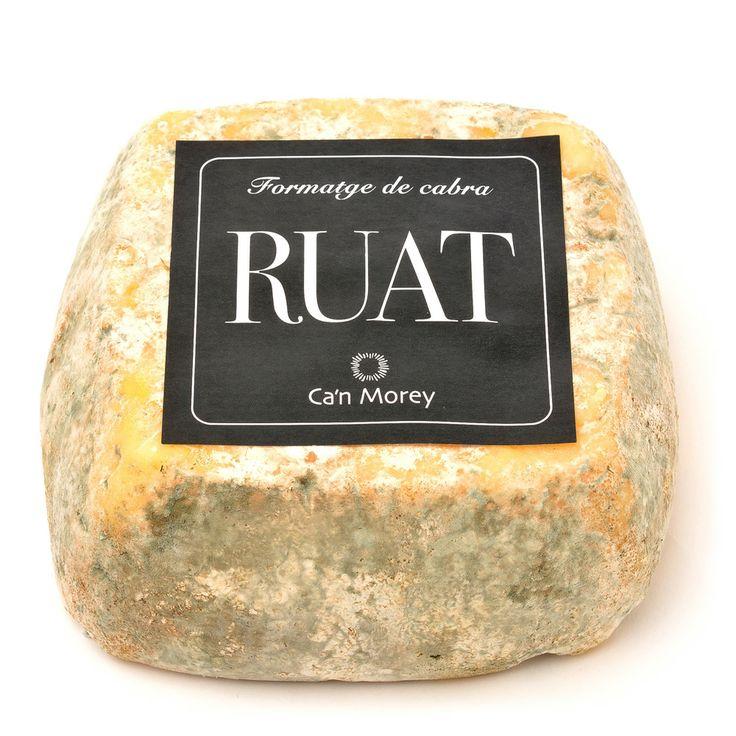 """Queso de cabra """"Ruat"""" -- Loveat!© - #We_Loveat -  Queso de autor, elaborado por maestro quesero. Semicurado, de leche cruda. #We_Loveat"""