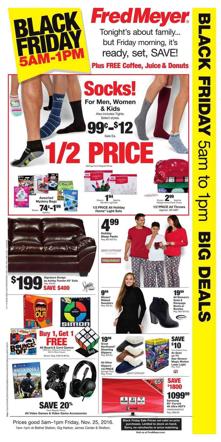 Fred Meyer Black Friday Ad 2016 - http://www.hblackfridaydeals.com/fredmeyer-black-friday-deals-sales-ads/