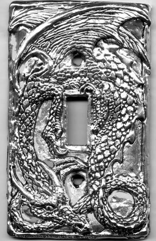 dragon light switch cover