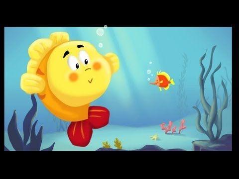 Les petits poissons dans l'eau - so cute!