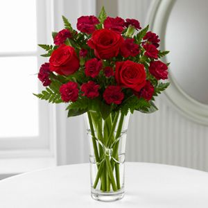 The FTD® Sweethearts® Bouquet | Visit azfreshflowers.com to see more beautiful Valentine's Day arrangements.