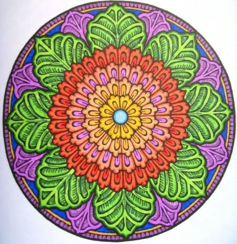 Mandala Mystical Coloring Book Dover Design Books By Alberta Hutchinson Adult