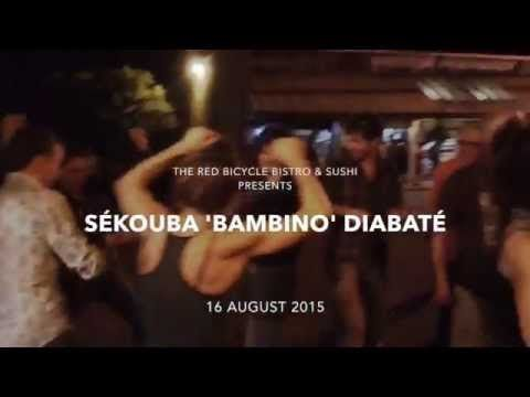 Sékouba 'Bambino' Diabaté | The Red Bicycle Bistro & Sushi 08.16.15