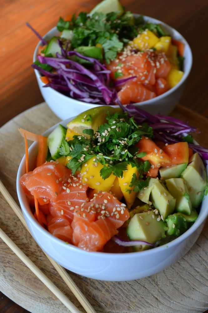 Hawaiianische Poke Bowl © The Recipe Suitcase