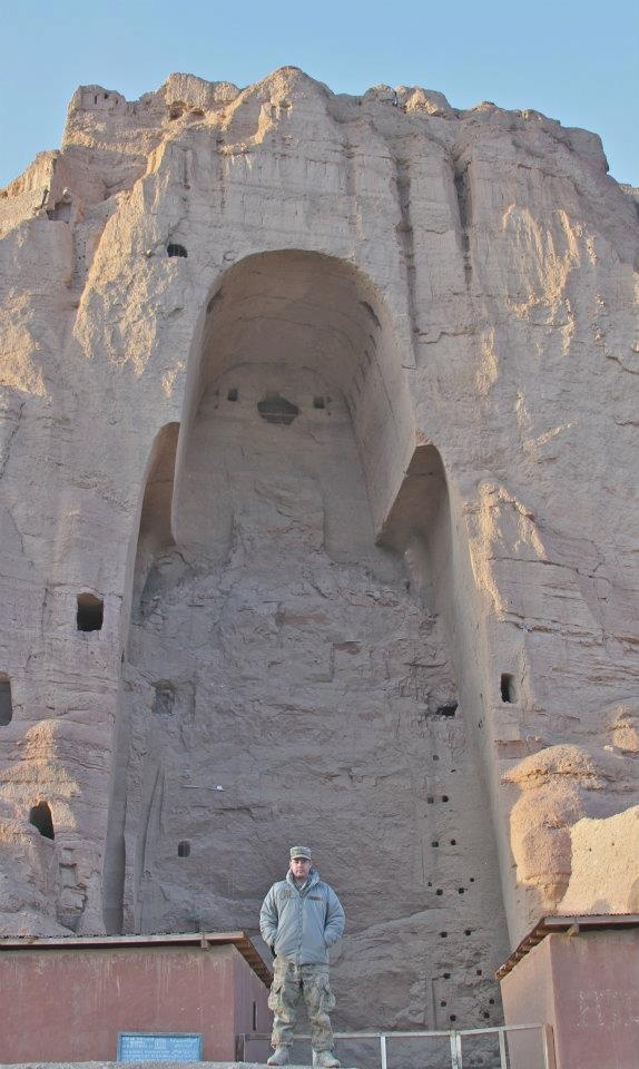 Where the giant Buddah statues used to be.  Along the Silk Road in Bamiyan Province, Afghanistan.